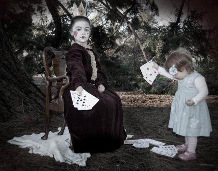 Alice in Wonderland - game of cards