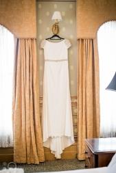 Vintage wedding gown photographed by Alex Pallett Ballarat and Buninyong.