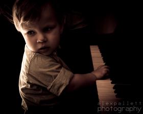 Child at Piano-1