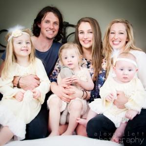 Home location family photography Ballarat