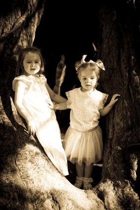 Vintage children's photography Ballarat