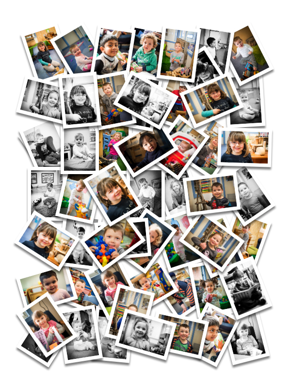 Collage kinder alex pallett