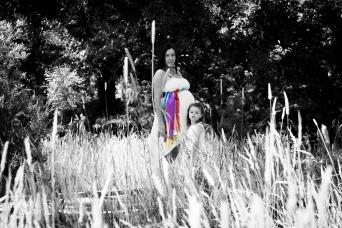 Ballarat Buninyong special maternity photoshoot