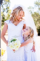 Mother and Daughter By Buninyong wedding photographer Alex Pallett