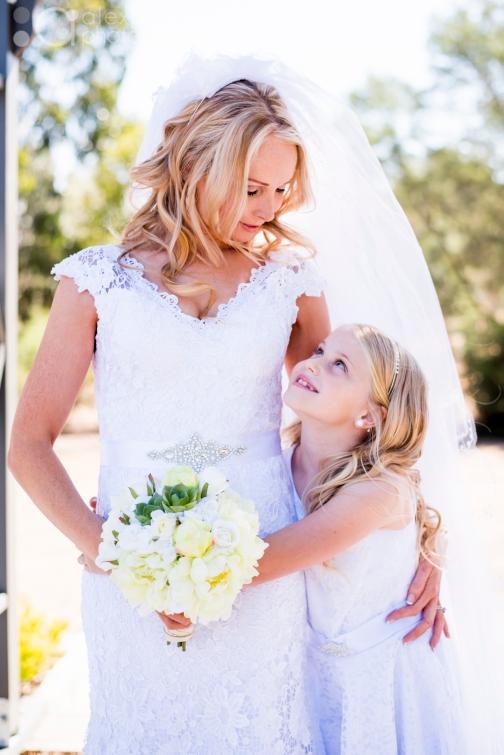Mother and Daughter By Buninyong wedding photographer Alex Pallett