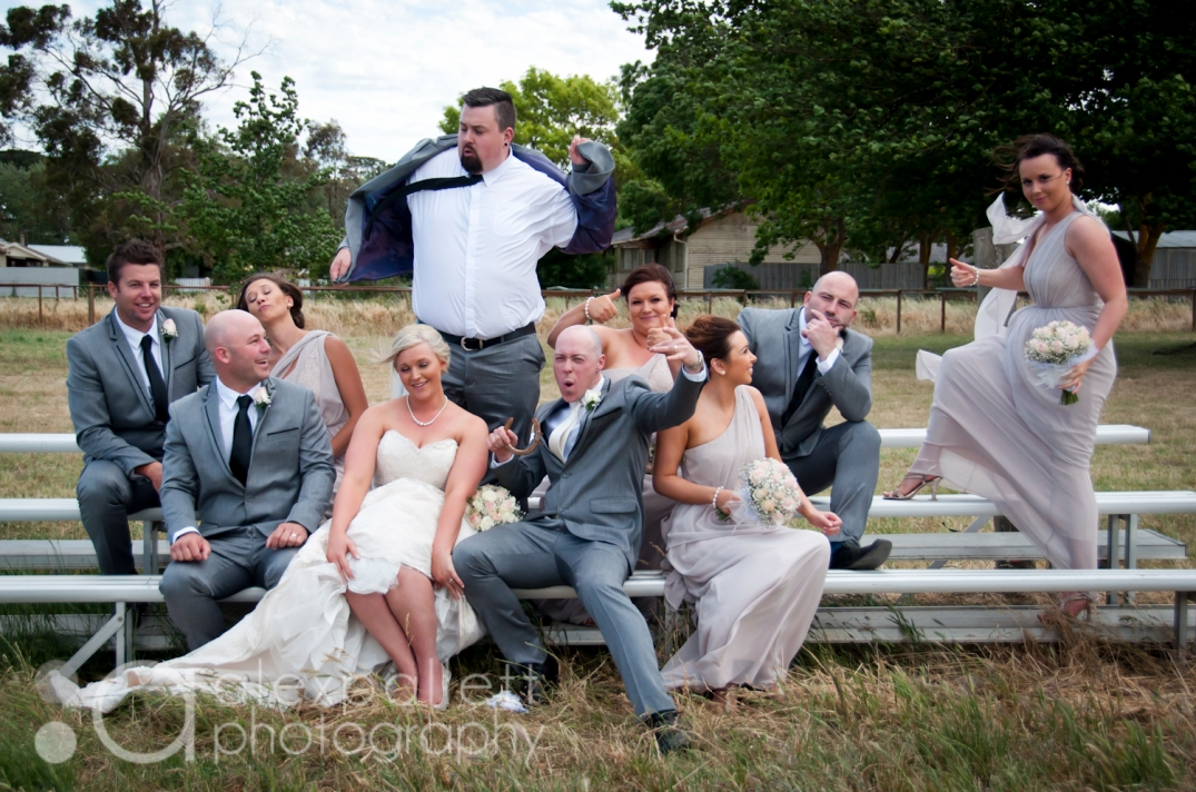 fun wedding photography with Alex Pallett