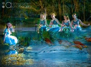 alex pallett photography alice in wonderland mermaids